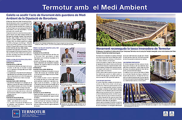Termotur amb el medi ambient